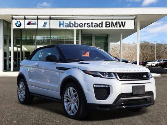 Range Rover Huntington >> Pre Owned 2017 Land Rover Range Rover Evoque Convertible Hse Dynamic 4wd