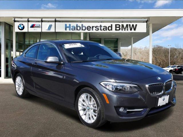 Pre-Owned 2016 BMW 2 Series 2dr Cpe 228i xDrive AWD
