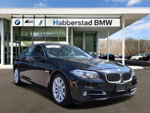 Pre-Owned 2016 BMW 5 Series 4dr Sdn 535i xDrive AWD