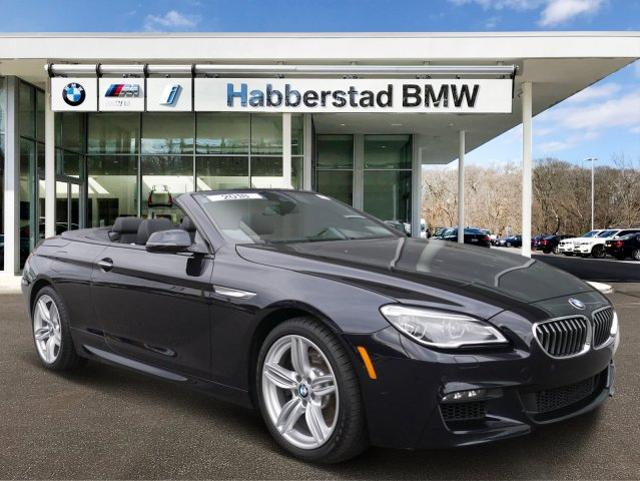 Pre Owned 2018 Bmw 6 Series 640i Xdrive Convertible Convertible In