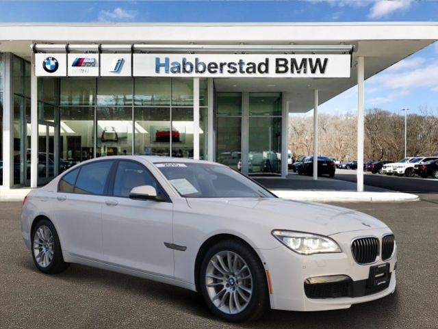 Bmw Pre Owned >> Pre Owned 2015 Bmw 7 Series Awd 4dr Sdn 750i Xdrive Awd In