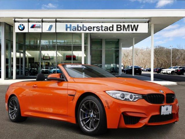 Bmw Pre Owned >> Pre Owned 2016 Bmw M4 Rwd 2dr Conv In Huntington Station Bb4303