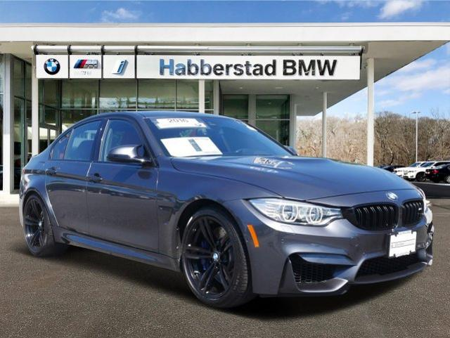 Pre-Owned 2016 BMW M3 4dr Sdn