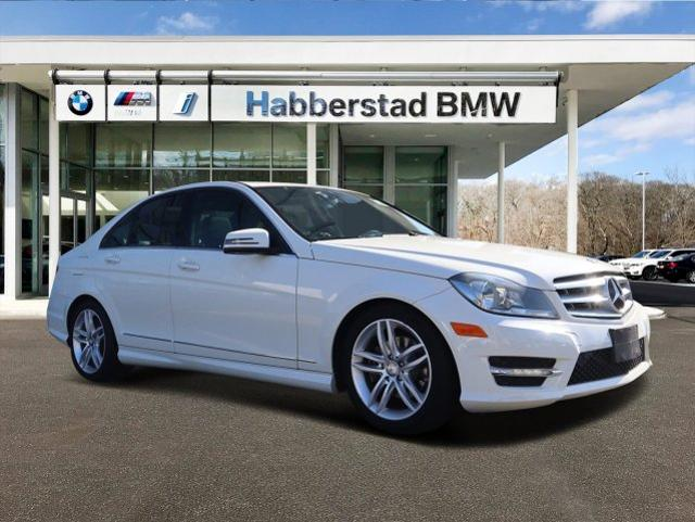 Pre-Owned 2012 Mercedes-Benz C-Class BEIGE