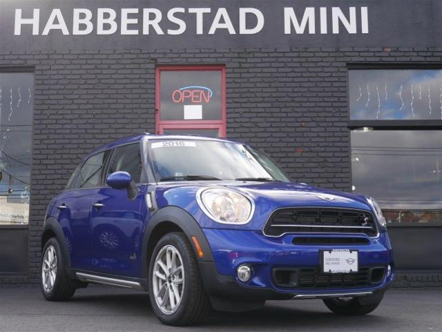 Certified Pre Owned 2016 Mini Countryman Cooper S